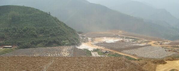 广西某堆浸金矿