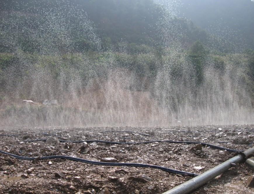 安徽某金矿高硫高砷无毒提金药剂堆淋工艺